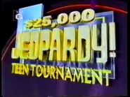 Jeopardy! Teen Tournament Season 13 Logo