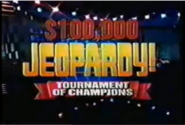 Jeopardy! Tournament of Champions Season 11-12 Logo