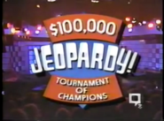 Jeopardy! Tournament of Champions Season 8 Logo
