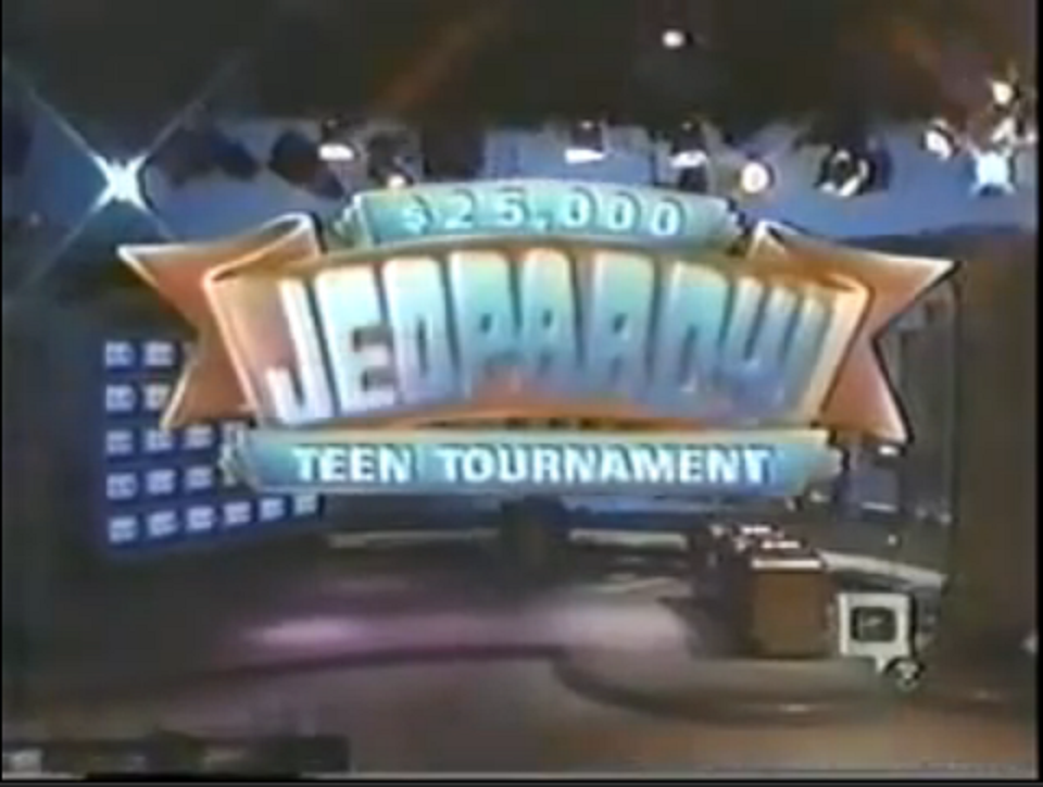 Jeopardy teen tournament results