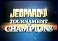 Jeopardy! Tournament of Champions Season 24 Logo