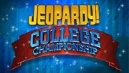 Jeopardy! College Championship Season 25-26 Logo