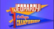Jeopardy! College Championship Season 28-29 Logo
