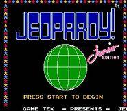 0Jeopardy Junior Edition NES ScreenShot1