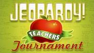 Jeopardy! Season 27 Teachers Tournament Title Card