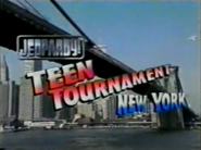 Jeopardy! Teen Tournament Season 16 Logo-B