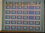 Jeopardy! 1960s Game Board