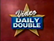 Jeopardy! S11 Video Daily Double Logo (Celebrity Jeopardy! Variant)