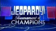 Jeopardy! Tournament of Champions Season 26 Logo