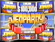 Jeopardy! Tournament of Champions Season 9 Logo