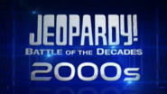 Jeopardy! Battle of the Decades 2000s Logo