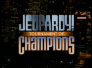Jeopardy! Tournament of Champions Season 16 Logo