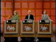 Jeopardy 1996 podium red
