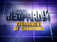 Jeopardy! Tournament of Champions Season 18 Logo