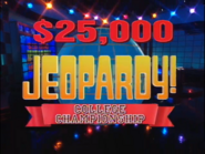 Jeopardy! College Championship Season 12 Logo
