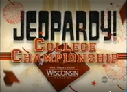 Jeopardy! College Championship Season 24 Logo