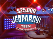 Jeopardy! Teen Tournament Season 7-8 Logo
