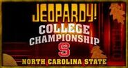Jeopardy! College Championship Season 22 Logo