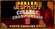 Jeopardy! College Championship Season 22 Logo