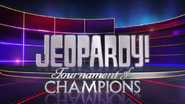 Jeopardy! Tournament of Champions Season 29 Logo