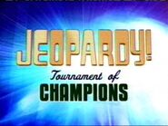Jeopardy! Tournament of Champions Season 21 Logo