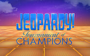 Jeopardy! Tournament of Champions Season 32 Logo
