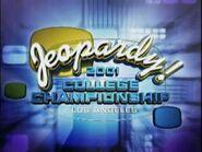 Jeopardy! College Championship Season 18 Logo