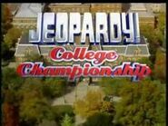 Jeopardy! College Championship Season 19 Logo