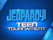 Jeopardy! Teen Tournament Season 25-26 Logo