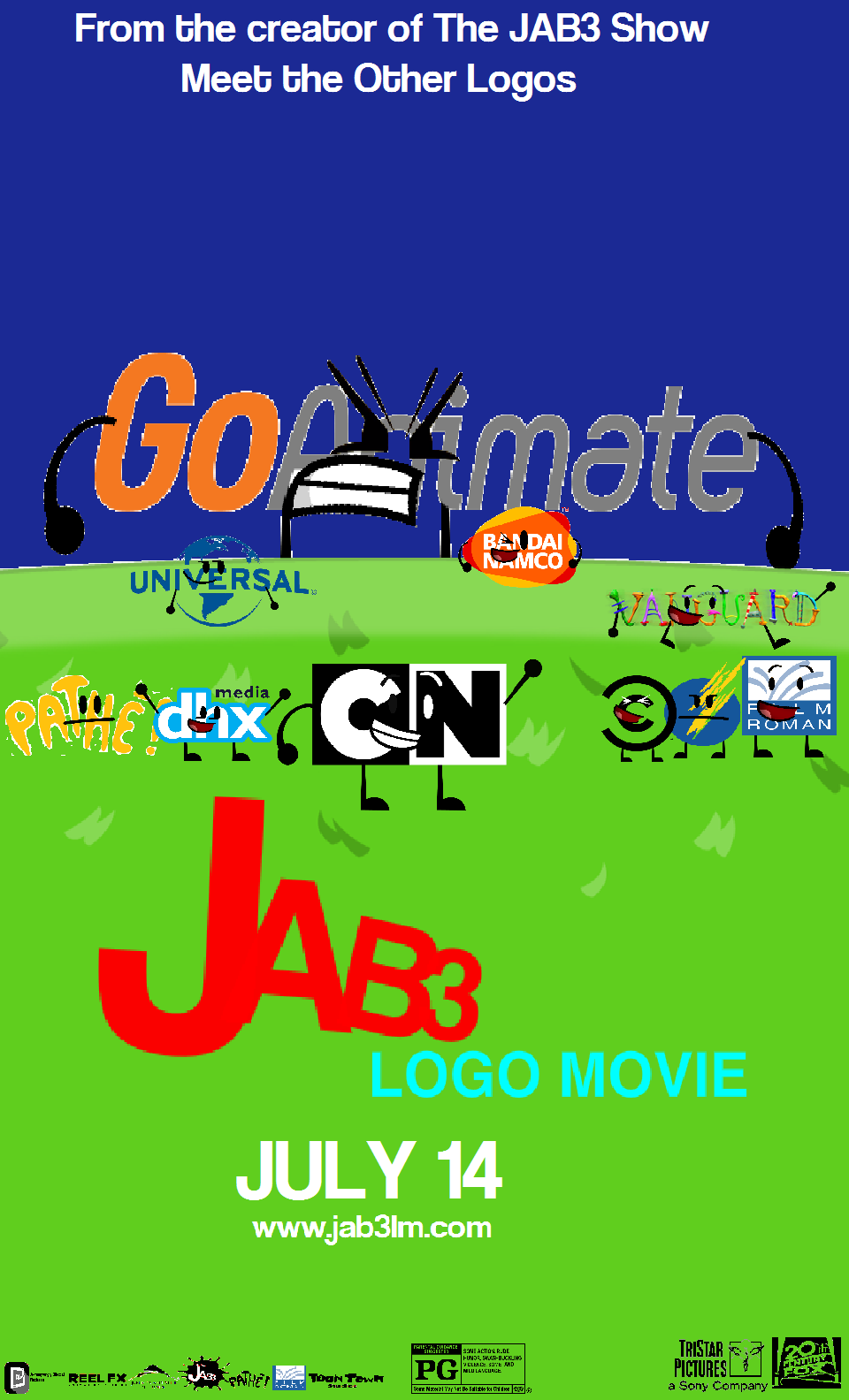 JAB3 Logo Movie | JeremyAngryBirds3 Pictures Wikia ...