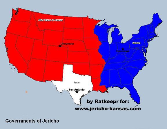 Second American Civil War   Jerichopedia   FANDOM powered by Wikia