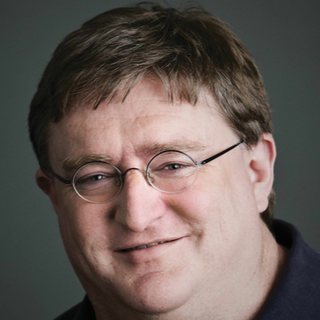 Gabe Newell in real life