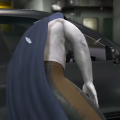 Glue Man getting his head smashed into his car's window by Jerma