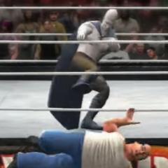 Glue Man eliminating Danny Devito