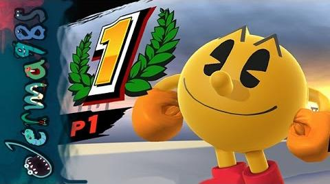 Smash Bros Wii U - Pac-Man's 1v1 Glory Quest
