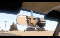 Rear-view mirror guy