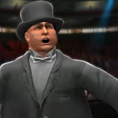 The Monopoly guy after being eliminated