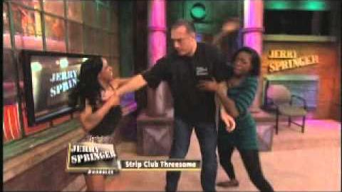 Strip Club Threesome (The Jerry Springer Show)