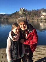 Cometan at Lake Bled