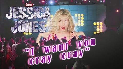 Trish Walker - I want you cray cray