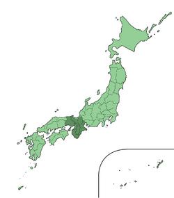 Japan Kansai Region large