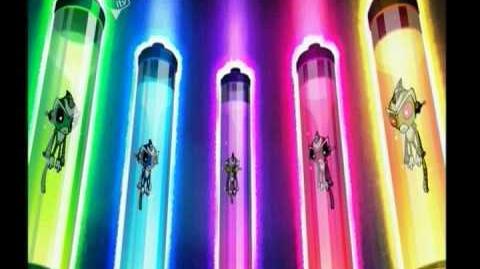 Super Robot Monkey Team Hyper Force Go! Titles