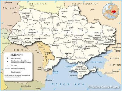 Ukraine-Administrative-Map