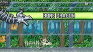 Equipping Bone Dragon