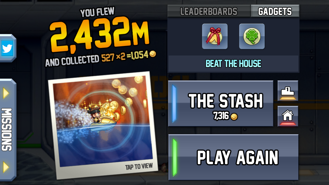 Jetpack joyride bling it on prizes