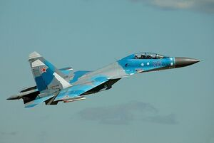 Sukhoi Su-30MK of the Russian Air Force