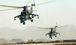 Afghan Mil Mi-35