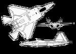 Views of F-22