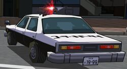 Police Car Rear-Close Up 1