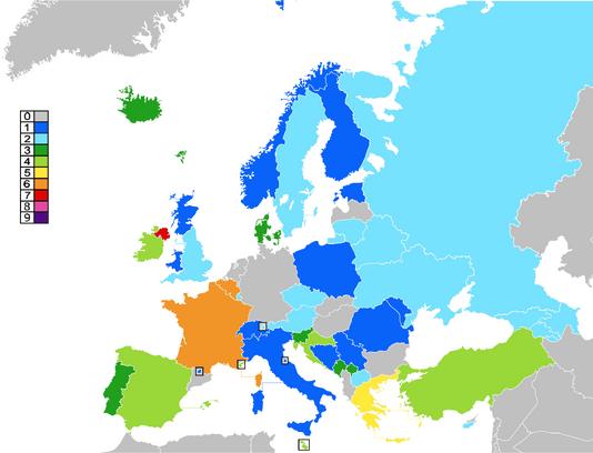 EBR Top 5 as of 2038
